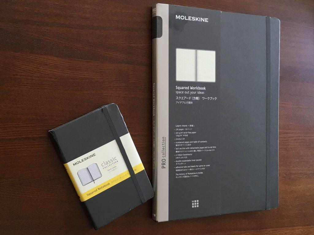 モレスキン(MOLESKINE®︎)プロコレクションワークブックA4 スクエアード(方眼)ワークブック