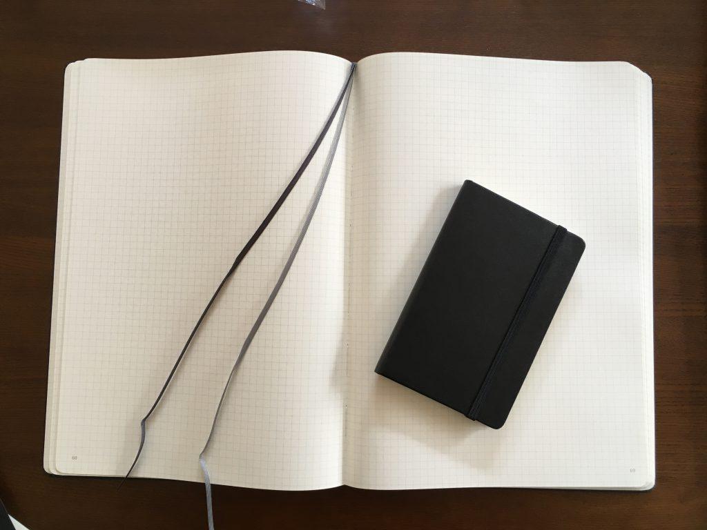 モレスキンの2本の栞
